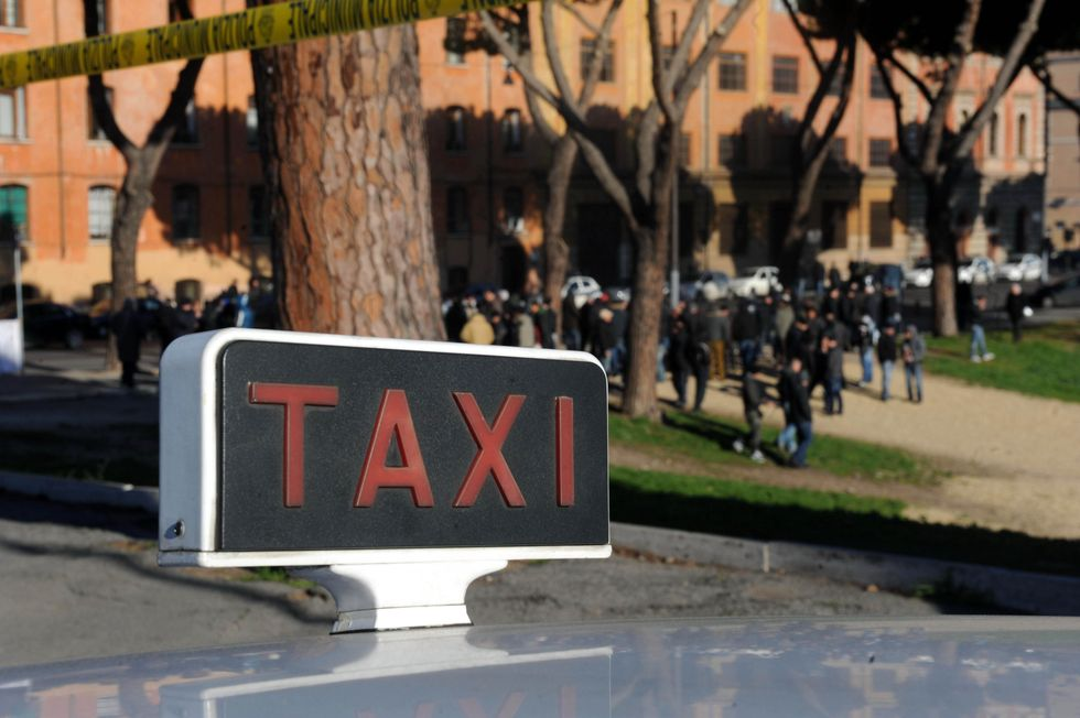 """Qui ci vuole un """"para-taxi"""""""