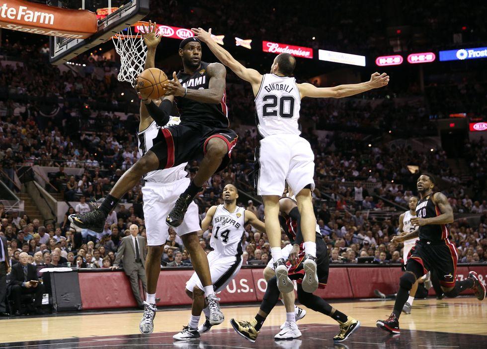 NBA: Miami-San Antonio, resa dei conti in gara 6