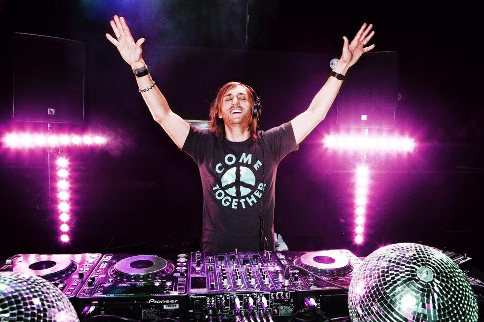Guetta, Kalkbrenner, Van Buuren: i 3 top Dj dal vivo in Italia