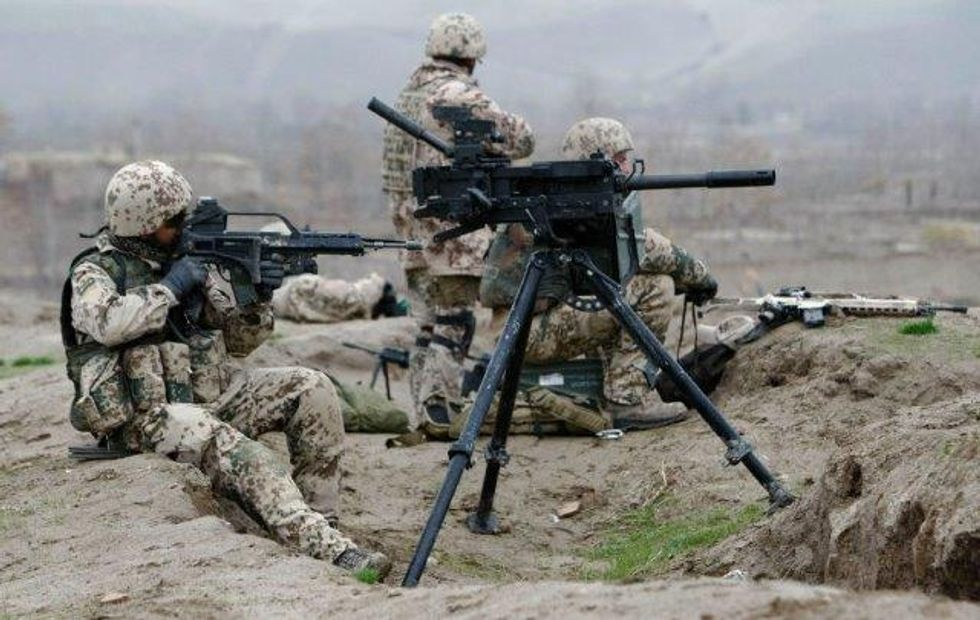 Le truppe tedesche in Afghanistan sgominate dall'alcool