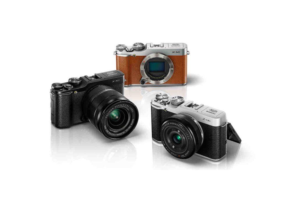 Fujifilm X-M1, la mirrorless è sempre più leggera