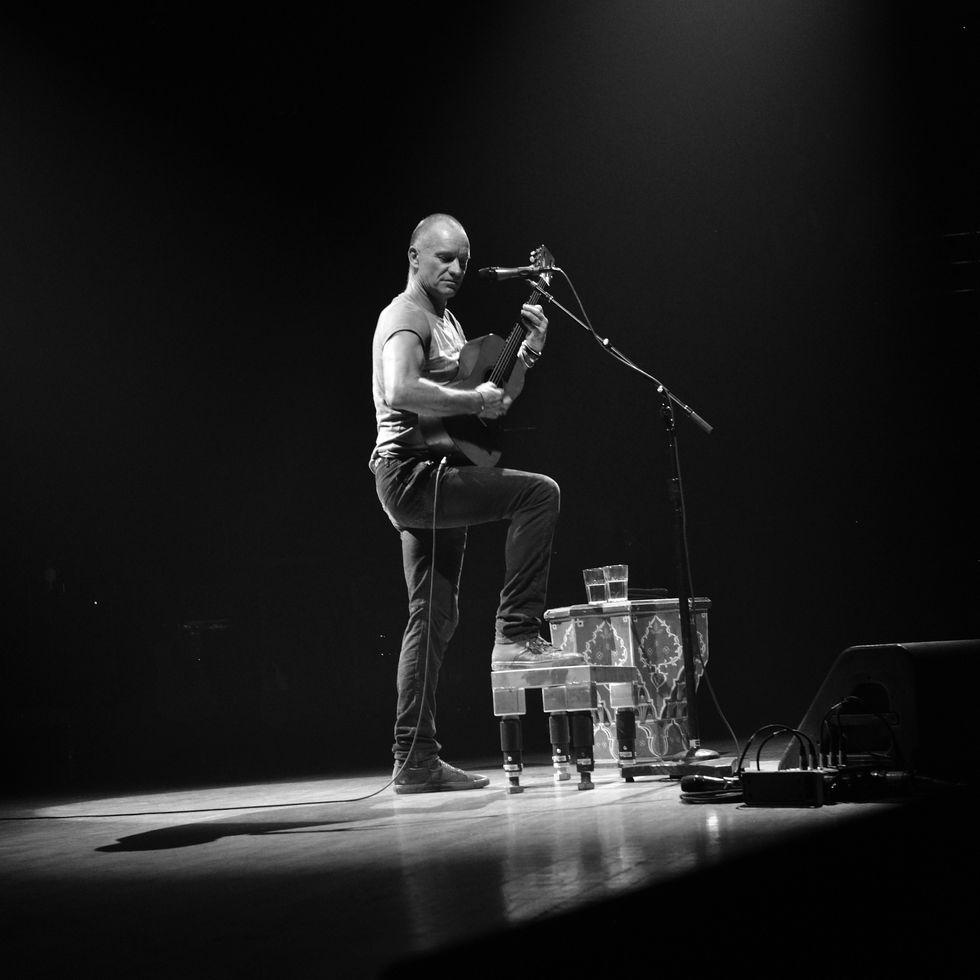 Sting: tutta la carriera in un concerto-evento