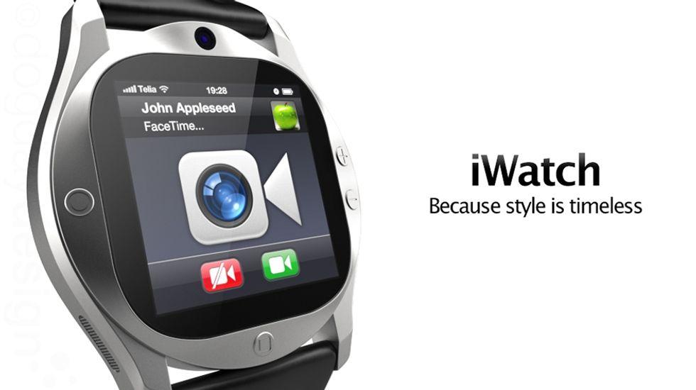 iPhone, ecco lo smartwatch (non ufficiale)