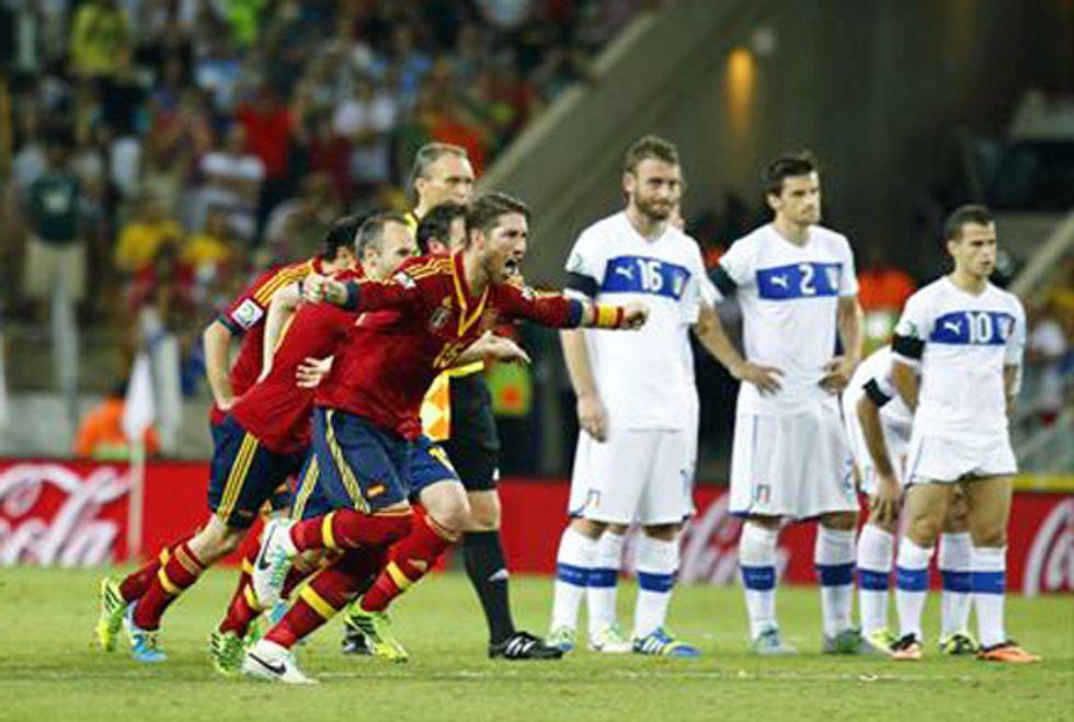 Ascolti 27/06: mezza Italia a sospirare per il rigore di Bonucci