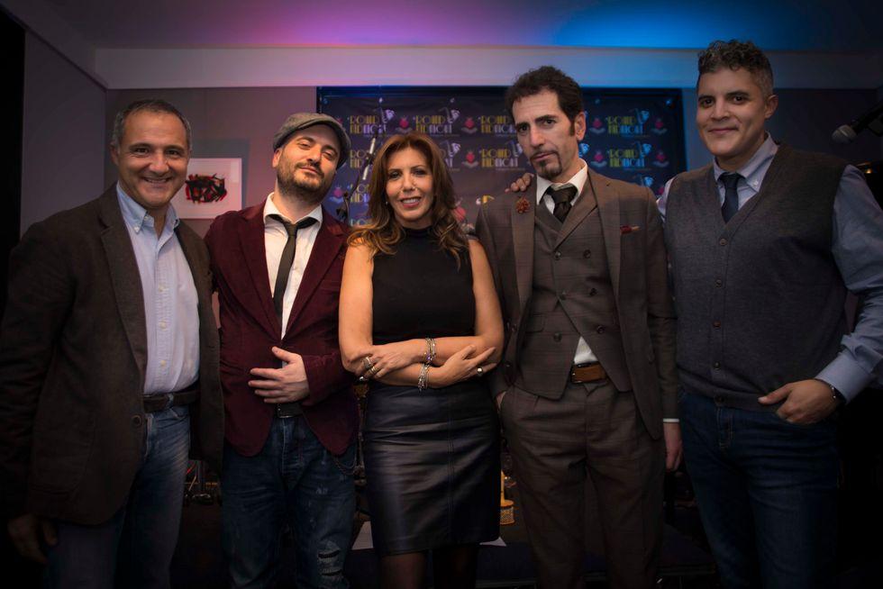 Max De Tomassi, Ginaski Wop, Tina Vannini, Alfonso Tramontana, Robertico Martinez 2