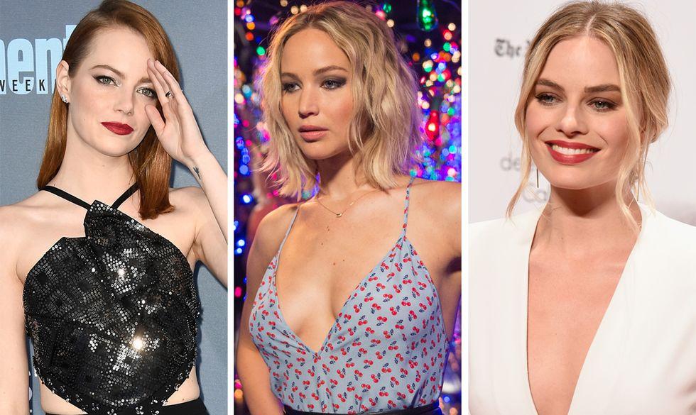 Le attrici più seducenti del 2016