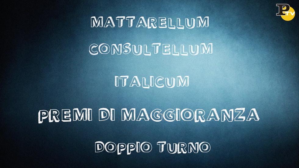 legge elettorale cosa prevede come funziona mattarellum cnsultellum italicum