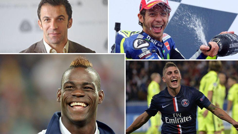I campioni dello sport italiano più seguiti sui social nel 2016