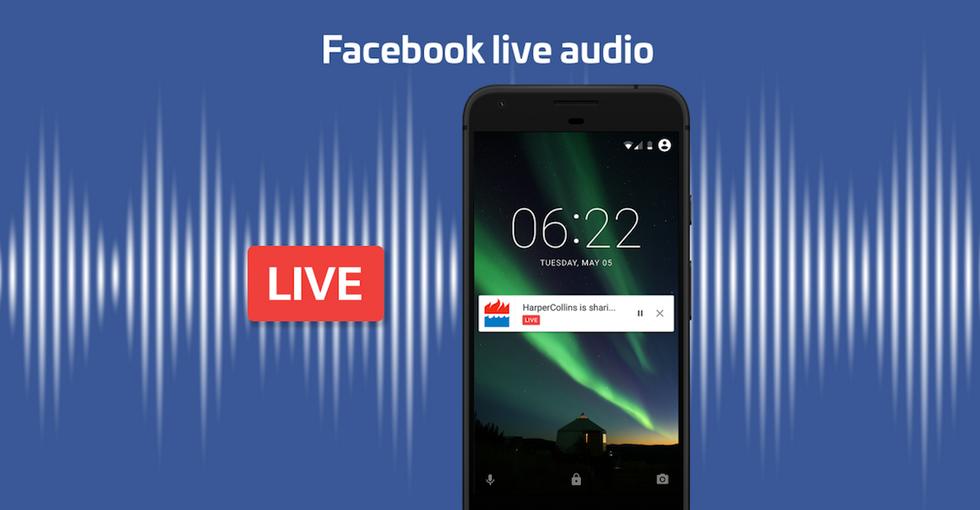 Live Audio, la radio si sposta su Facebook