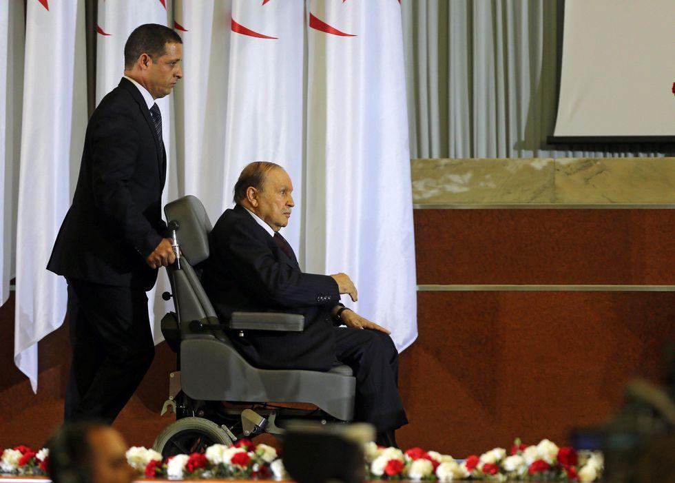 Presidente algerino Bouteflika