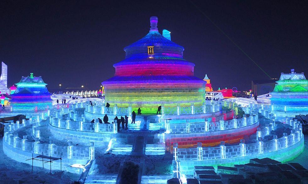Harbin, Festival del ghiaccio e della neve