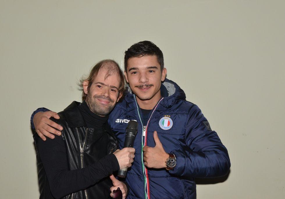 Special Festival: Mario Biondi, Ruggeri e Moreno cantano con i disabili