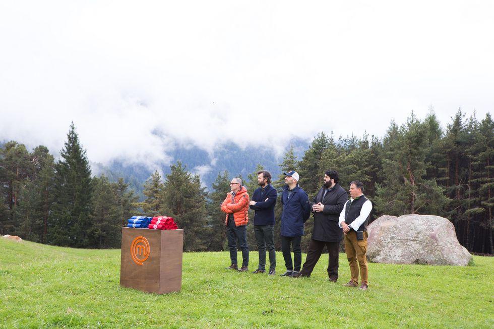 I quattro giudici pronti per la prova in Sud Tirol