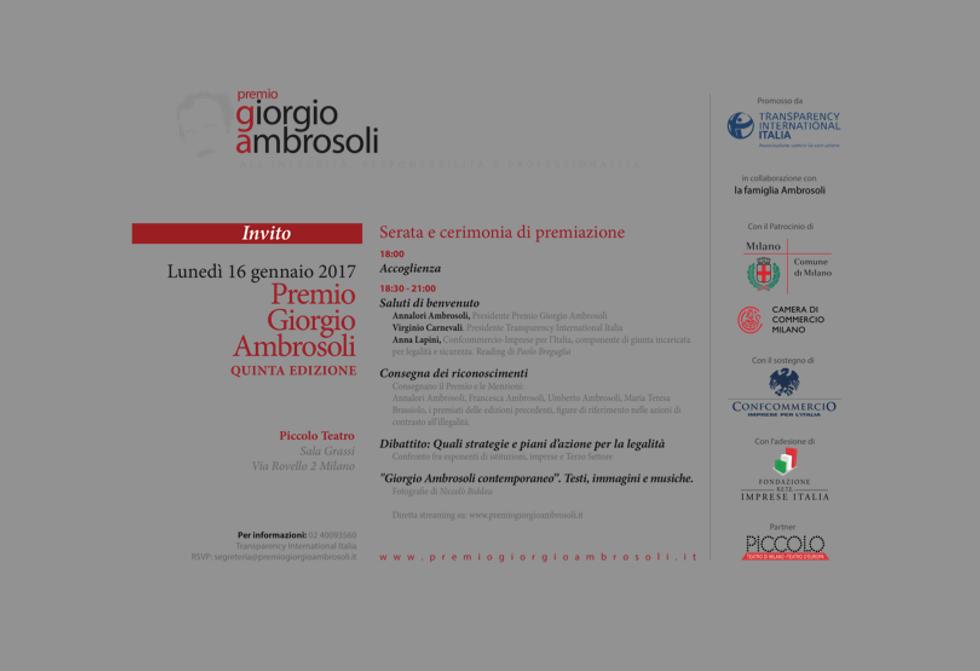 diretta premio ambrosoli