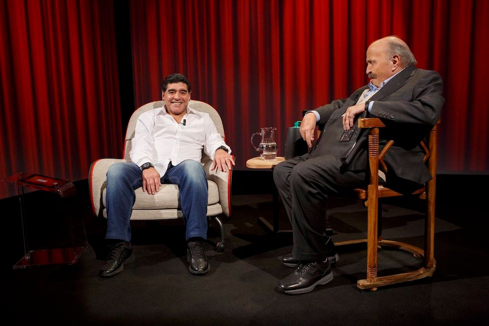 L'intervista Maradona