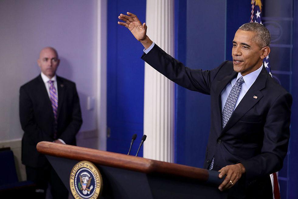 La garbata uscita di scena di Barack Obama