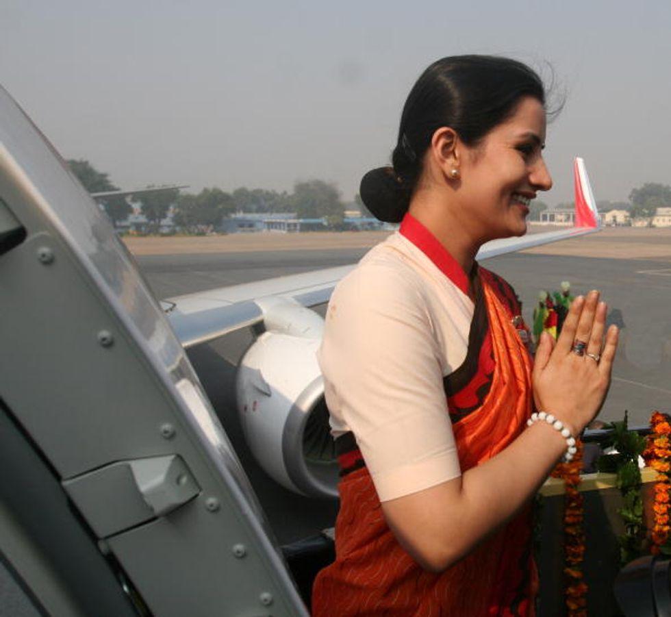 """India: contro le molestie, posti """"rosa"""" sugli aerei"""