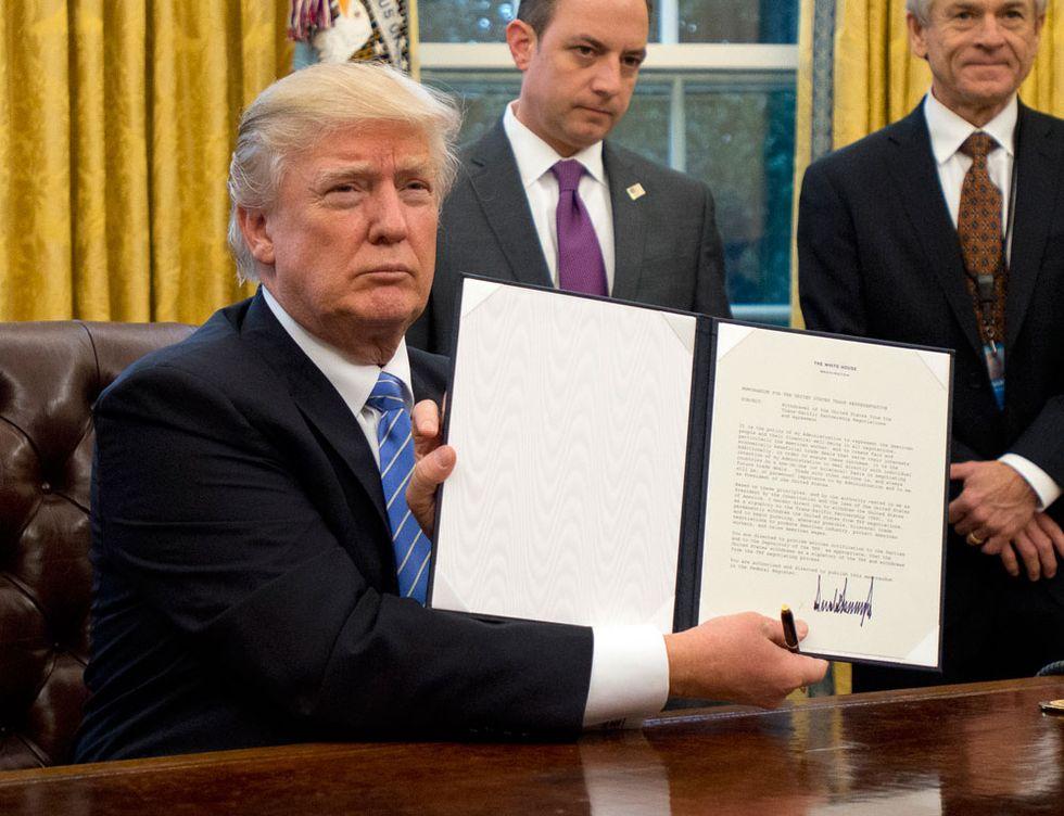 Donald Trump, le prime mosse e provvedimenti