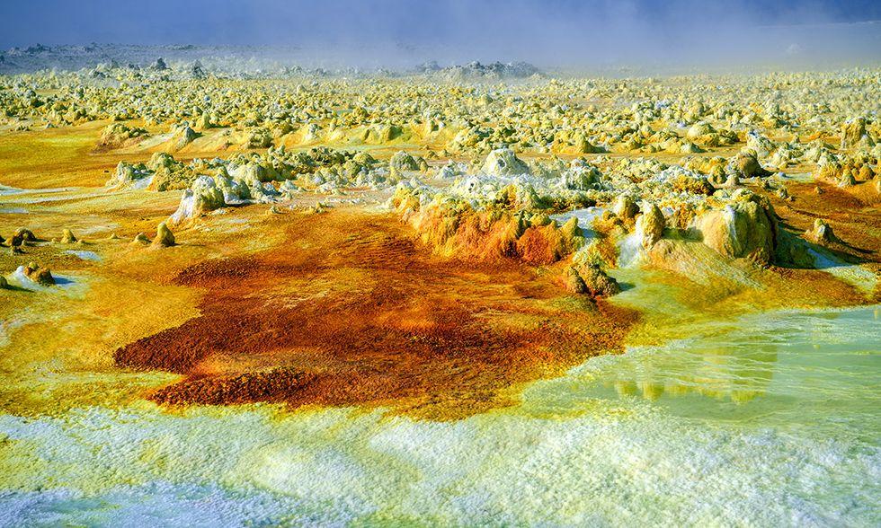 Etiopia, Depressione della Dancalia