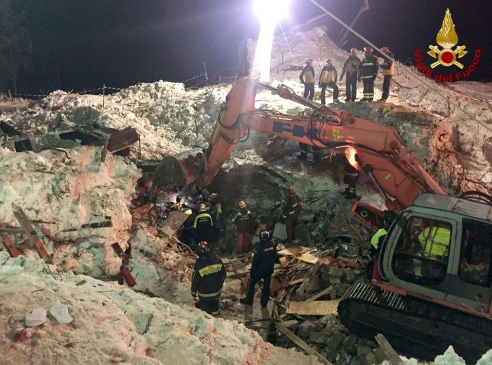 Hotel Rigopiano: recuperate le ultime due vittime - FOTO e VIDEO