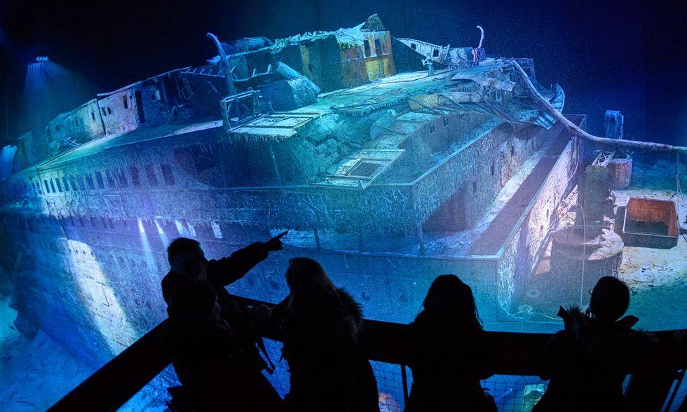 Lipsia, il Titanic a 360° di Yadegar Asisi