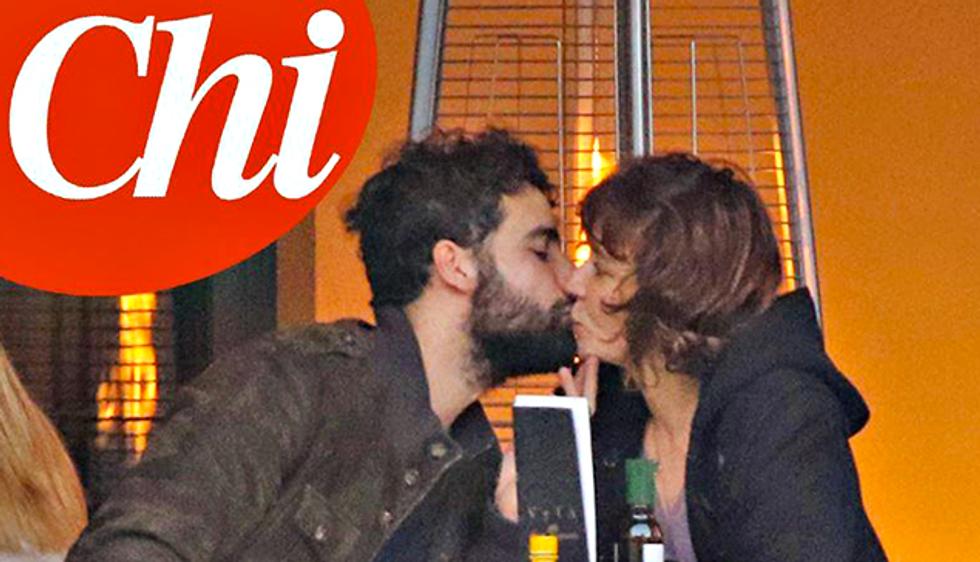 Il bacio tra Veleria Golino e Fabio Palombi