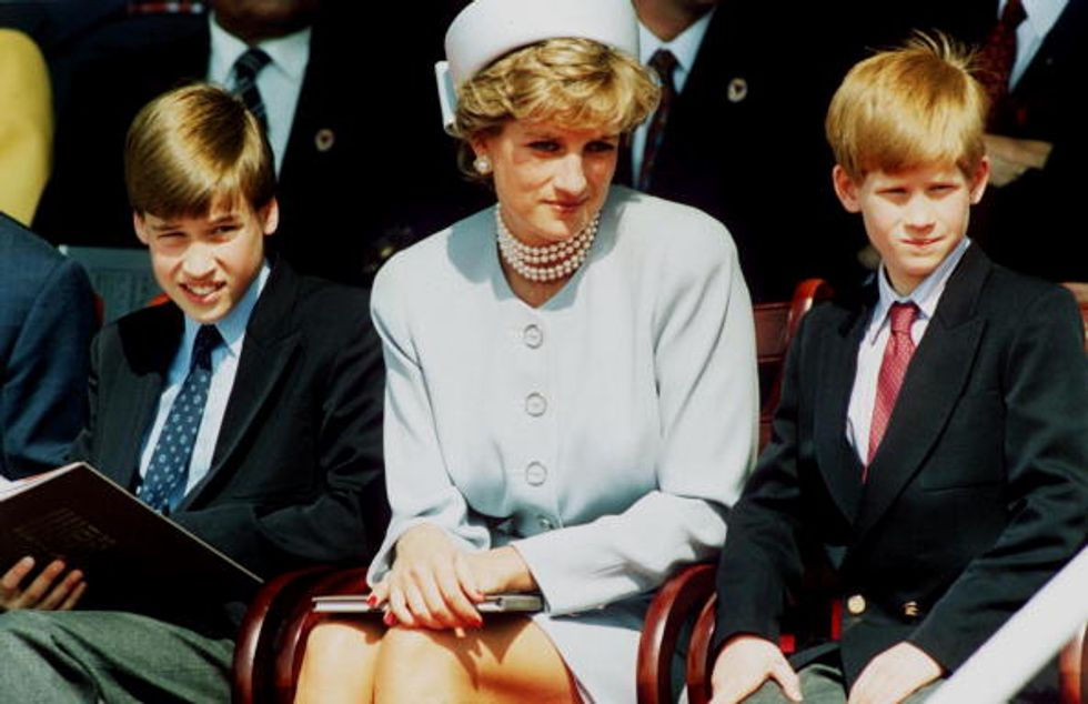 Il coming out conosciuto solo da Lady Diana