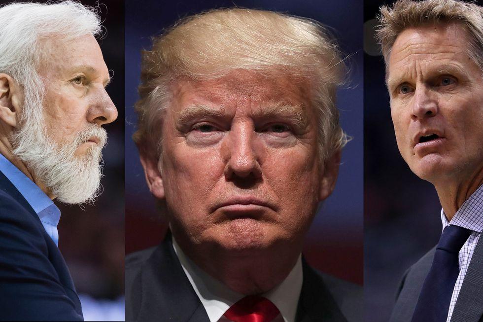 Nba: anche coach Popovich e coach Kerr contro il Travel Ban di Trump