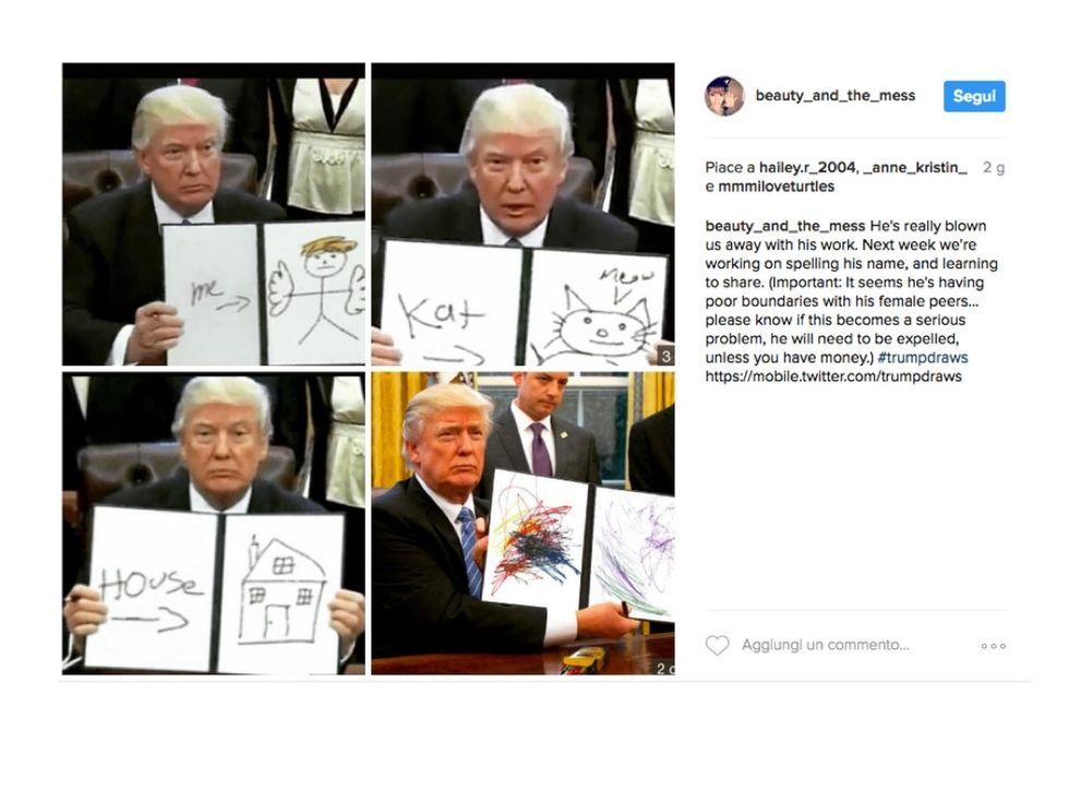 Il meglio di Donald Trump su Instagram