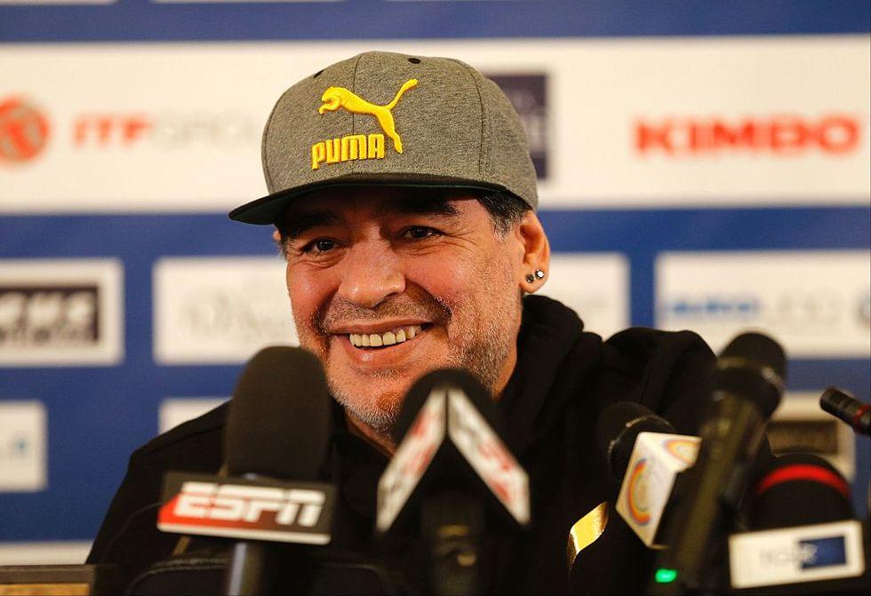 Maradona ora lavora con la Fifa: programmi e prospettive