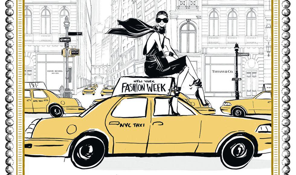 Fashion Victim a New York di Megan Hess