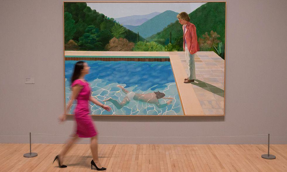 David Hockney alla Tate Britain