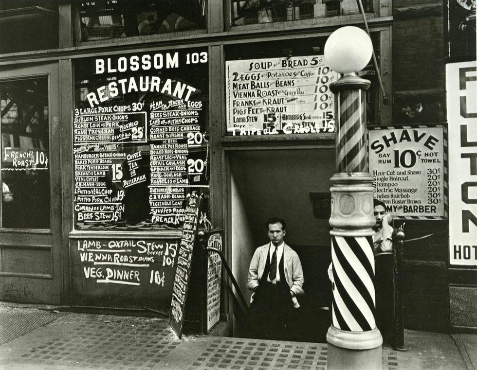 - Blossom Restaurant, 1935
