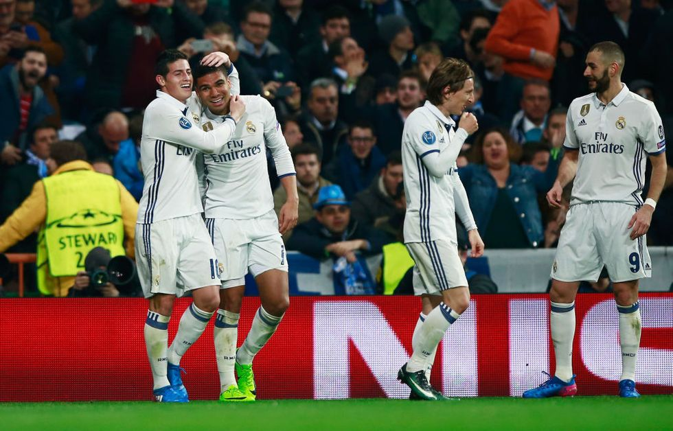 real madrid napoli champions league highlights video