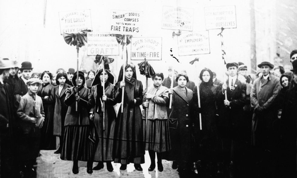 Festa della donna, incendio fabbrica New York