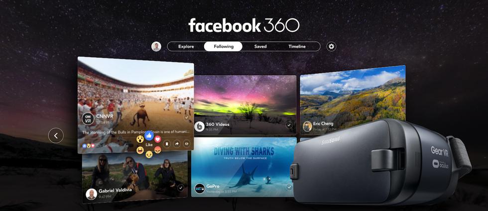 Facebook 360 su Gear VR: ecco cosa si può fare