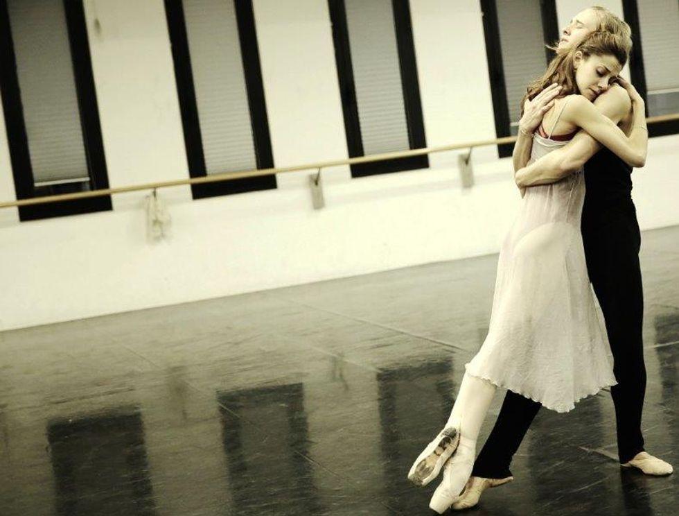 Alla Scala è storia d'amore sulle punte