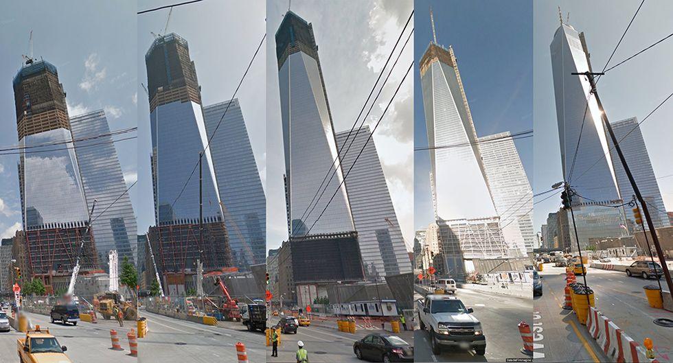 Google Street View: la macchina del tempo a New York
