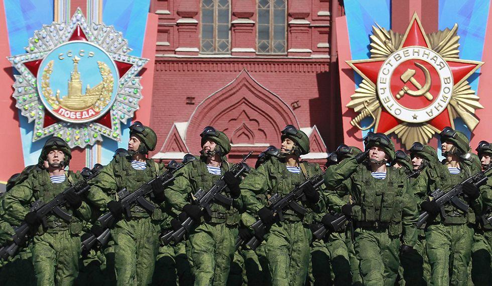 La Russia festeggia la Vittoria sui nazisti - Foto