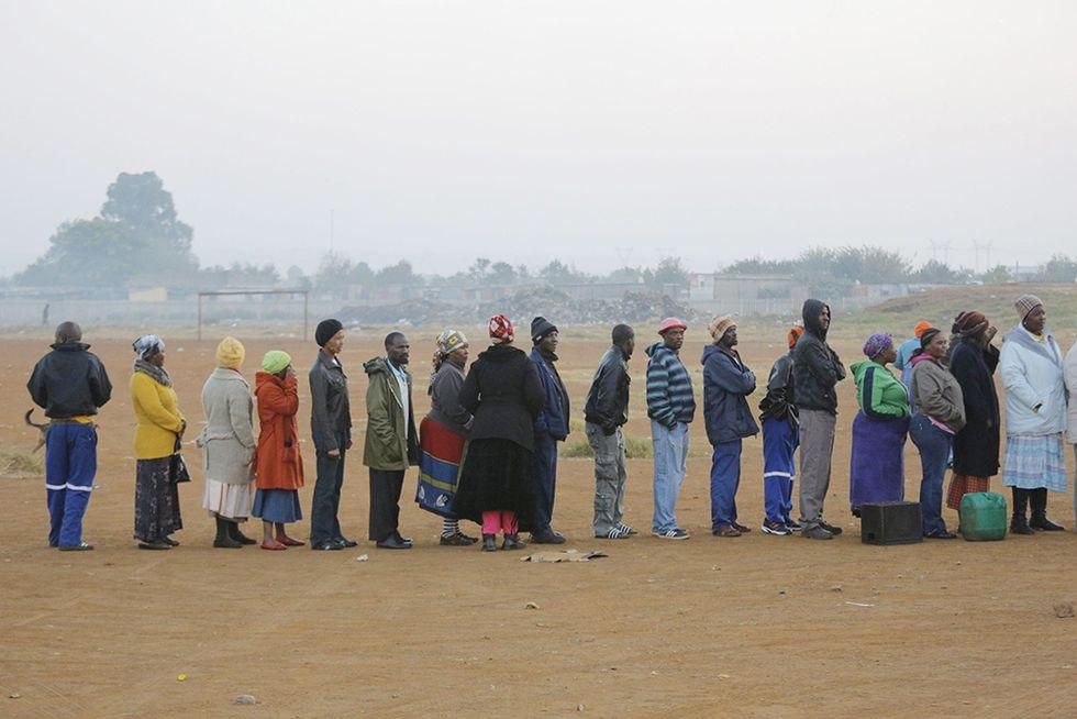 Il Sudafrica alle urne e altre foto del giorno, 07.05.2014