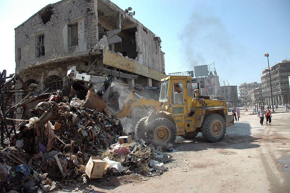 Le macerie di Homs e altre foto del giorno, 12.05.2014