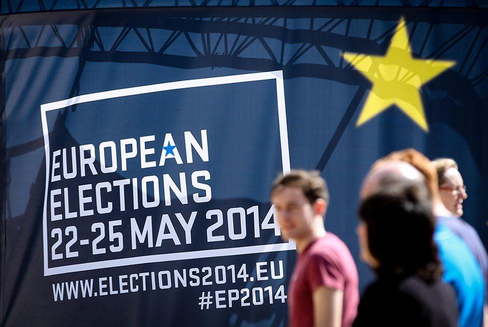 L'Unione Europea al voto e altre foto del giorno, 23.05.2014
