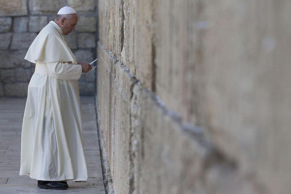 Papa Francesco al Muro del pianto e altre foto del giorno, 26.05.2014