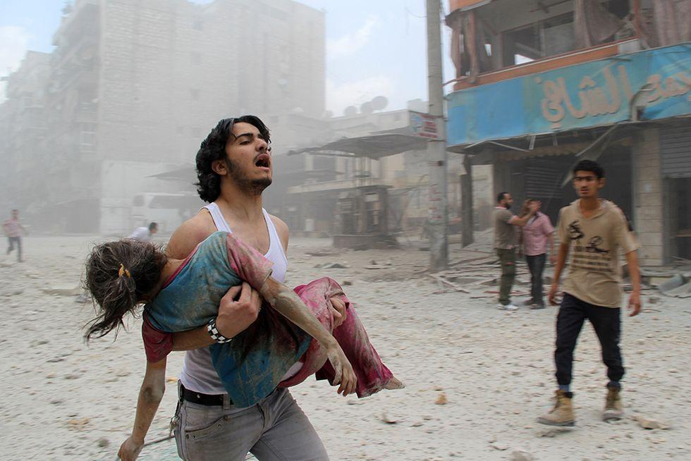 La guerra ad Aleppo e altre foto del giorno, 03.06.2014