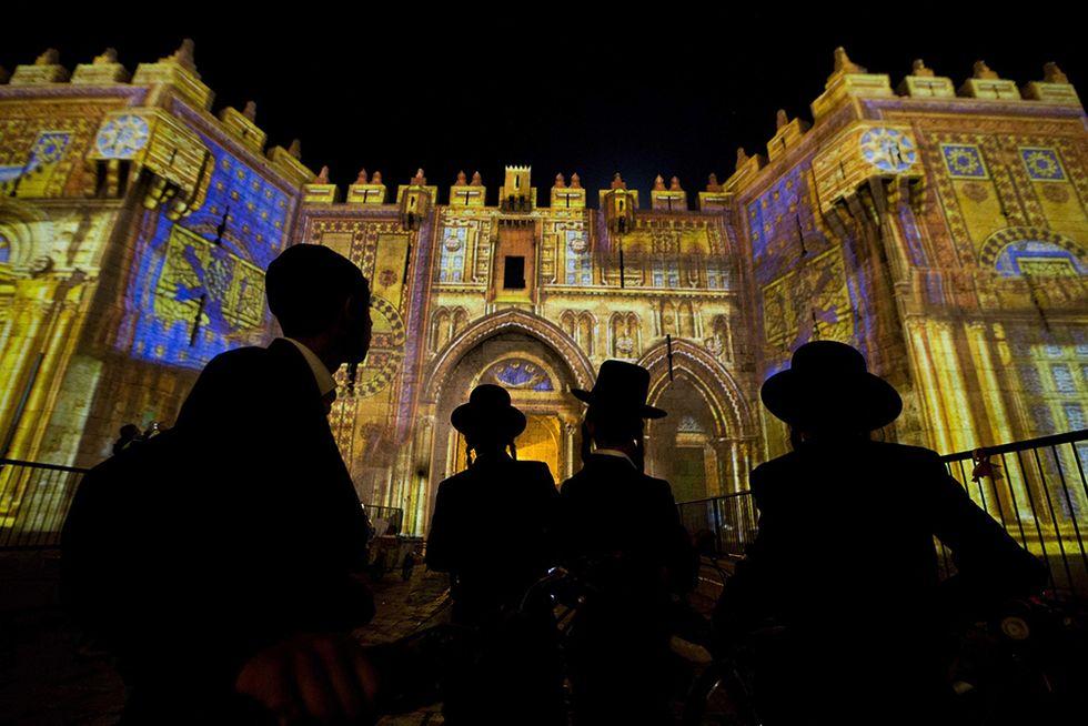 Festival delle luci a Gerusalemme