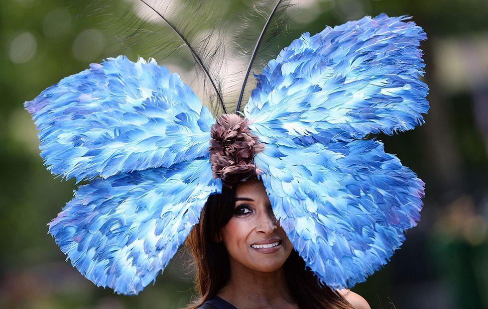 I cappelli bizzarri del Royal Ascot