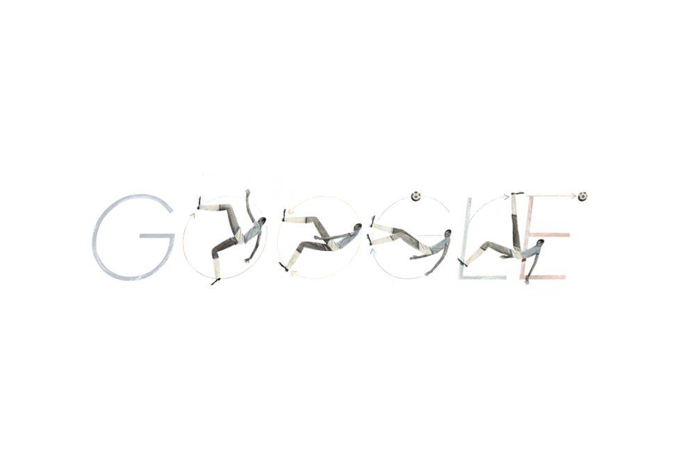 Google celebra la rovesciata di Leonidas da Silva