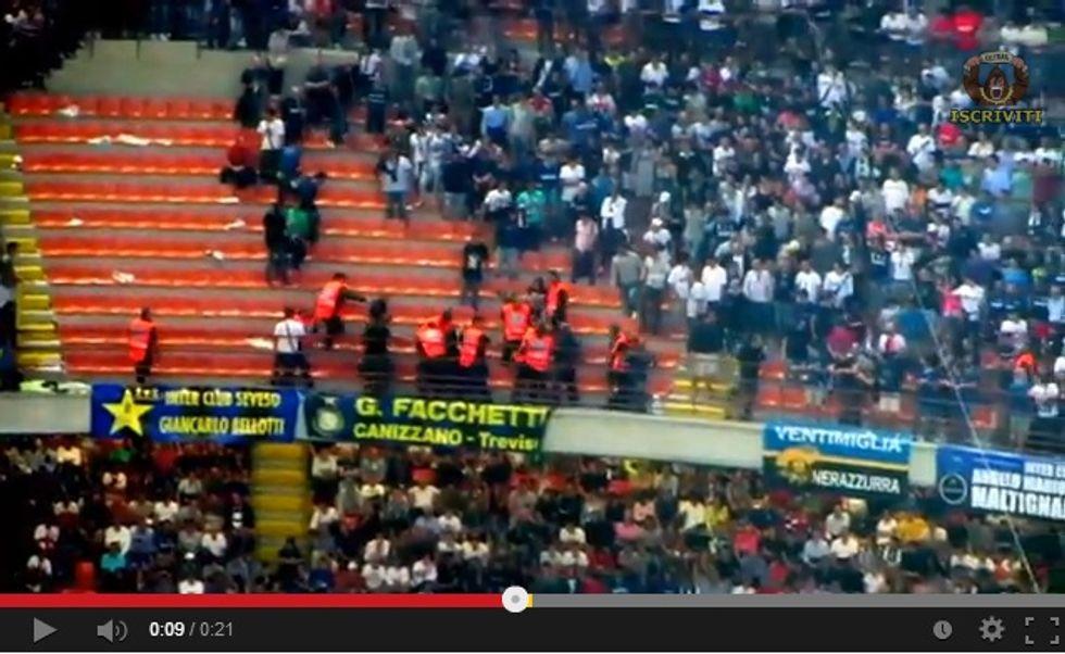 Steward all'italiana (VIDEO)