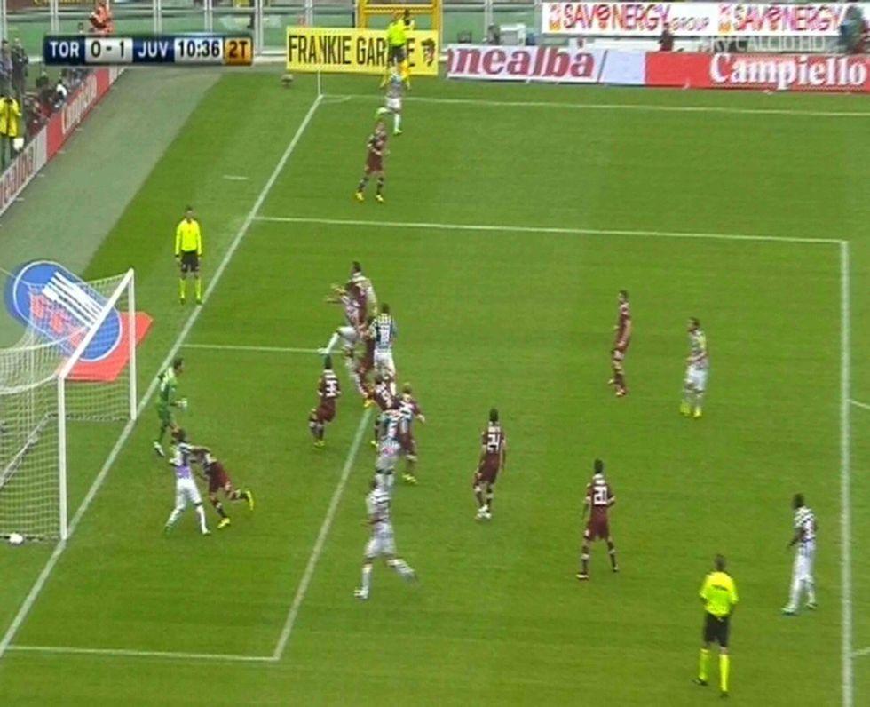 6° Giornata - Juventus, gol in fuorigioco. Pasticcio a Bergamo