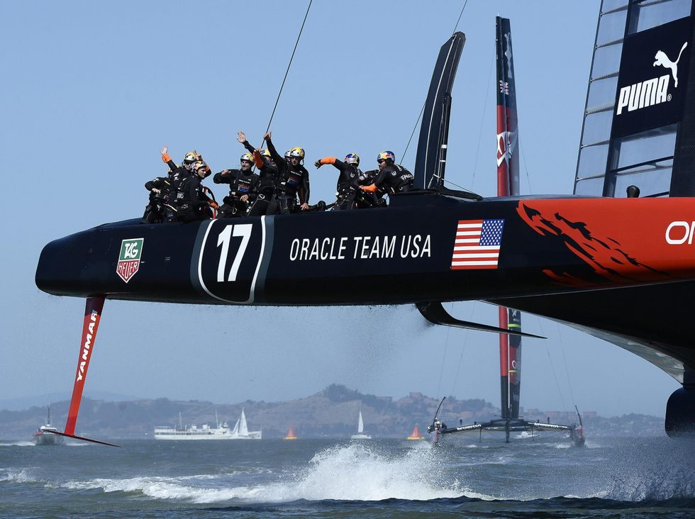 Oracle ha vinto l'America's Cup